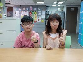 媽媽鼓勵彥錤獨立自主
